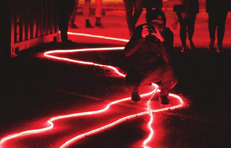 Paint The Town Red: Get On Board Dark Mofo