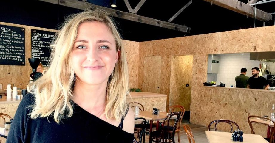 Hamlet Cafe's Emily Briffa