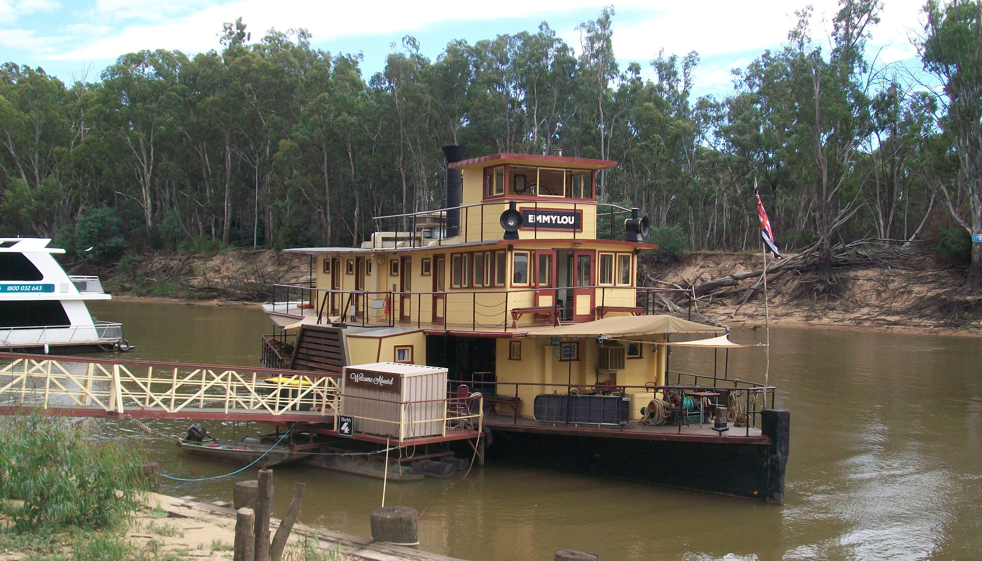 Rolling on the River at Echuca